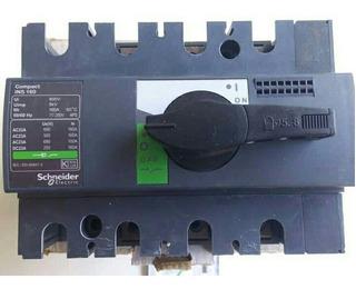 Seccionador Schneider Electric Ins 125 Amp 250v 3polos