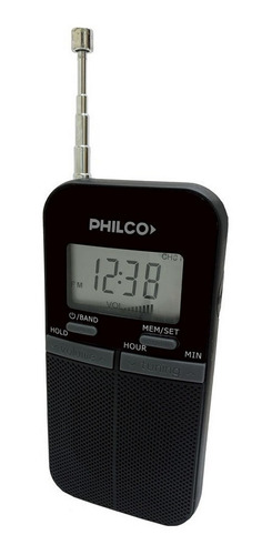 Radio Portátil Digital Philco Tipo De Cancha Am-fm Prc39d