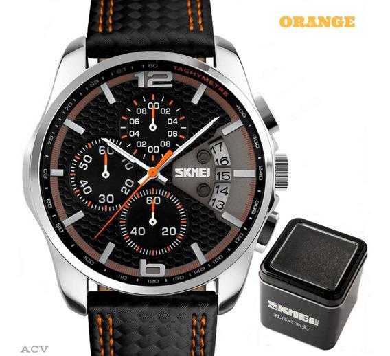 Relógio - Masculino - Skmei - 9106 - Super - Oferta