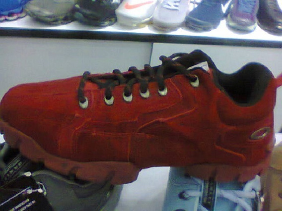 Tenis Oakley Flak 365 Vermelho Nº40 Original Na Caixa!!