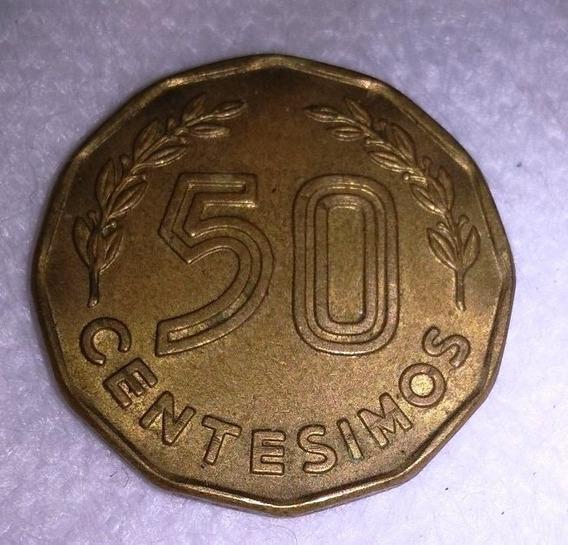 Moneda De Uruguay 50 Centesimos De 1976