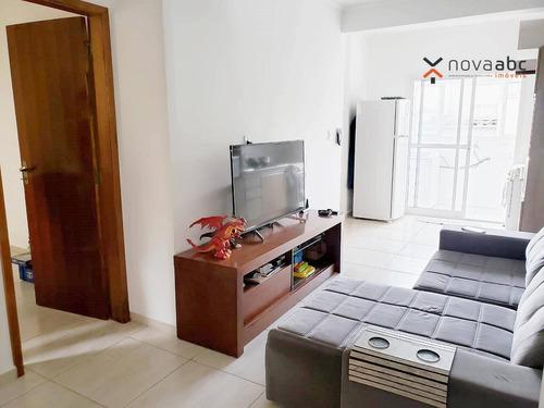 Apartamento Com 2 Dormitórios À Venda, 50 M² Por R$ 230.000,00 - Jardim Silvana - Santo André/sp - Ap3250