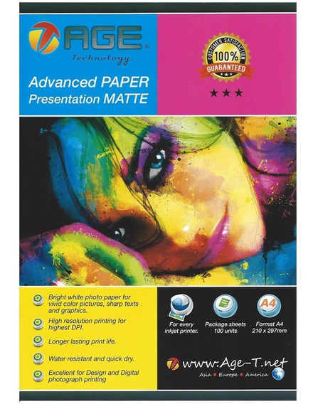 Papel Fotografico Advanced Paper Matte
