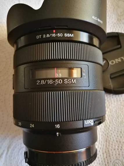 Lente Sony 16-50mm
