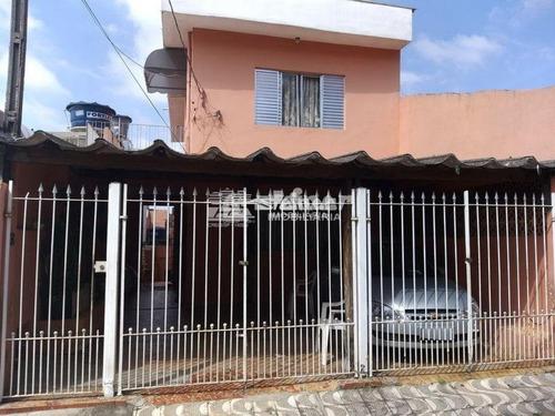 Imagem 1 de 13 de Venda Sobrado 3 Dormitórios Vila São Ricardo Guarulhos R$ 330.000,00 - 34166v