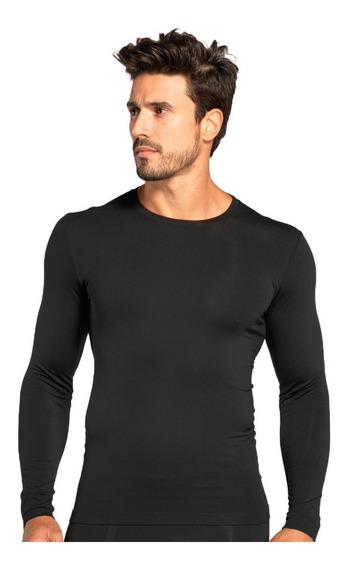 Kit 2 Camisa Térmica Segunda Pele Proteção Uv Compressão