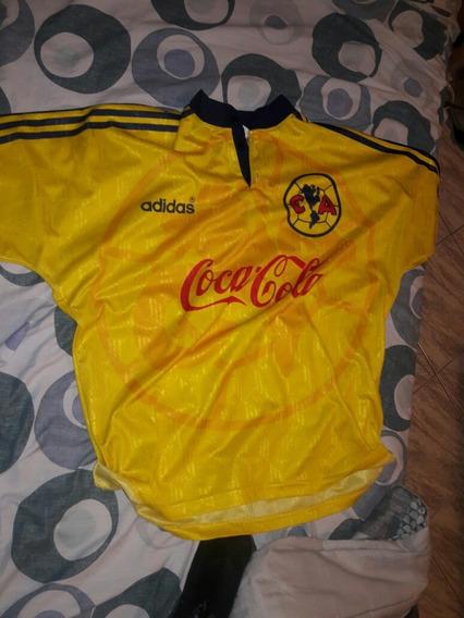 Camiseta Club America De Mexico Años 90