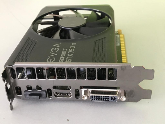 Placa De Vídeo - Nvidia Geforce Gtx 750 Ti - 2,0gb - Evga