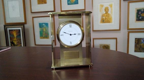 Reloj De Mesa Marca Tiffany Modelo Art Decó (ref 807)