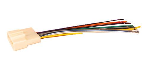 Chicote Plug Adaptador Cd Conector Nissan March Livina Versa
