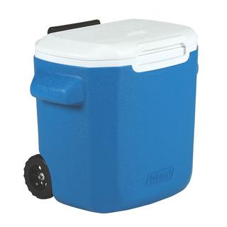 Caixa Térmica Com Rodas Coleman 16qt 15.1 Litros Azul
