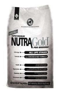 Nutra Gold Pro Breeder 20 Kg + Despacho Gratis V Región**