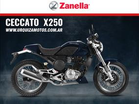Nueva Moto Zanella Ceccato 250 X X250 0km Urquiza Motos