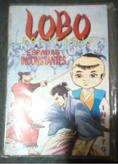 Revista Lobo Solitário - Espadas Inconstantes Nº 02 Lacrada