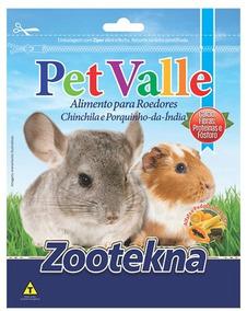 Pet Valle - Chinchila E Porquinho Da Índia - 10kg