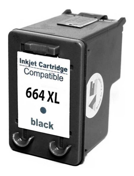 Cartucho Hp 664 Xl Black Compativel { 15 Ml }