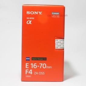 Lente Sony 16-70mm F/4 Za Oss Sel1670z Vario-tessar T* E