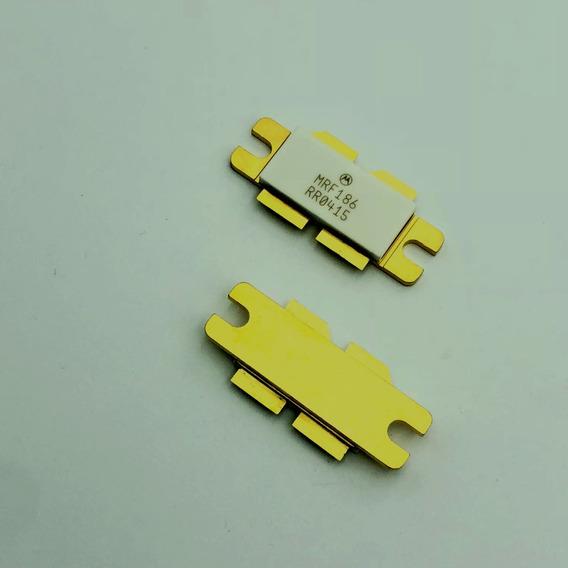 Transistor Rf Mrf186 Uhf Fm 900mhz 0riginal 1= Unidade