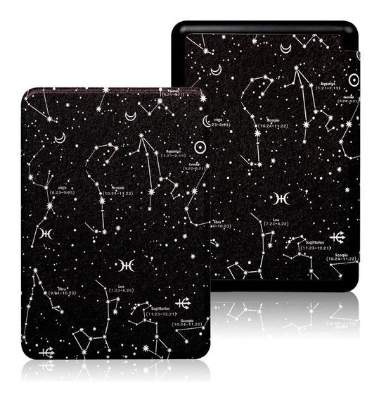 Capa Kindle Case 10ª Geração Com Fecho Magnético - Galáxia