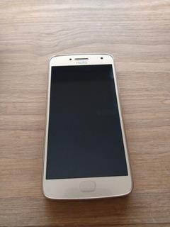 Motorola G5 Plus Dorado, Usado E Impecable, Claro