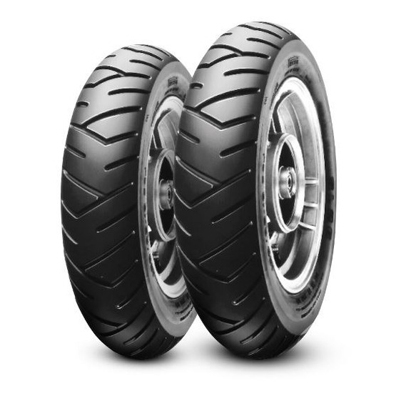 Par Pneu Pirelli Honda Lead 110 - 90/90-12 100/90-10 Sl26