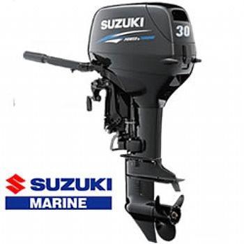Imagem 1 de 1 de Motor De Popa Suzuki 30hp Okm P. Eletrica 18 X Sem Entrada