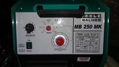 Maquina Solda Mig Balmer Mb 250mk