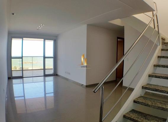 Cobertura Duplex 04 Quartos E Lazer Privativo Frente Mar Praia De Itapuã. - 17038