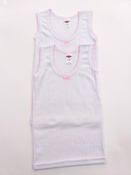 Camiseta Para Niña Talla 8-10-12 Paquete Cpn 12 Piezas