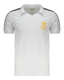 Camisa Retrômania Real Madrid 1986 Branca