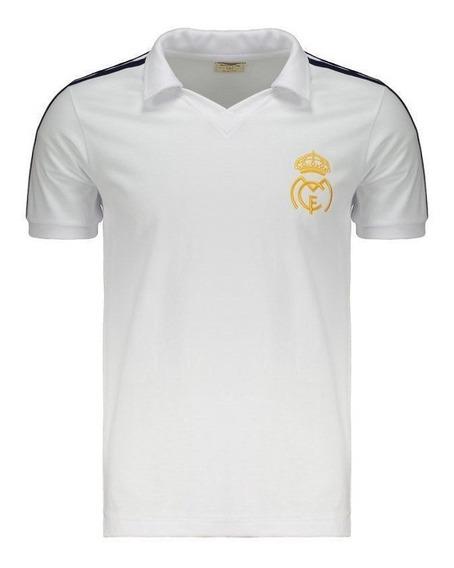 Camisa Retrômania Real Madrid 1986 Branca