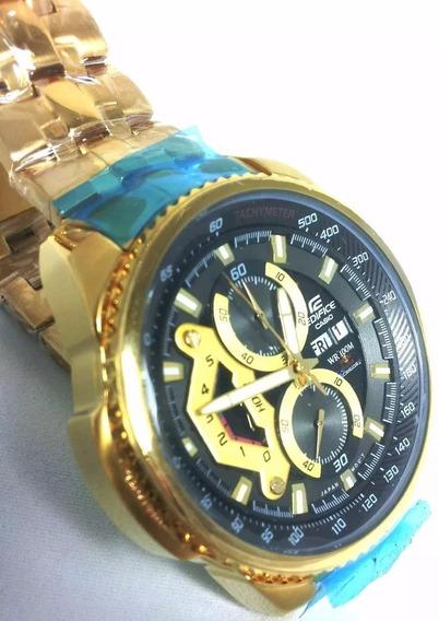 Relógio Casio Masculino Edifice Ef-558d Preto Frete Grátis