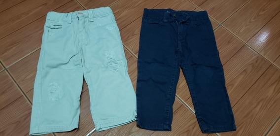 Lote Pantalones Gabardina 12m Cheeky Y Paula