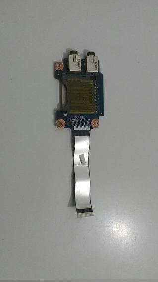 Interface Cartão Sd E Saida De Fone De Ouvido Lenovo G475