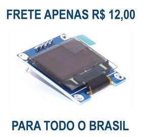 Display Lcd Oled Azul I2c 128x64 Serial I2c Arduino Pic