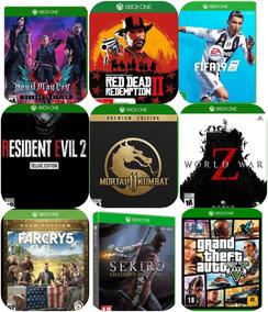Pacote 5 Jogos Xbox One Mídia Digital