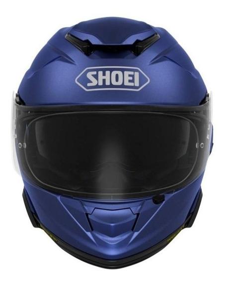 Capacete para moto integral Shoei GT-Air II matte blue metallic tamanho L
