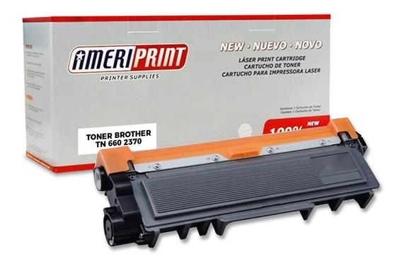 Toner Compatible Para Brother Tn 660 2370 Ameriprint