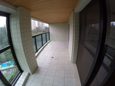 Apartamento Em Panamby, São Paulo/sp De 160m² 4 Quartos Para Locação R$ 6.500,00/mes - Ap189544