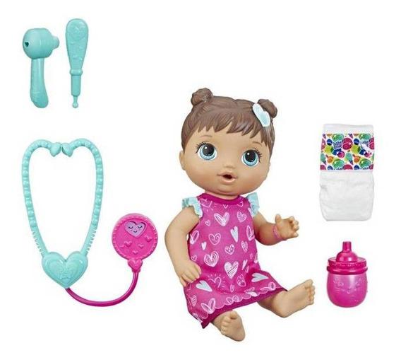 Boneca Baby Alive Cuida De Mim - Morena - Hasbro