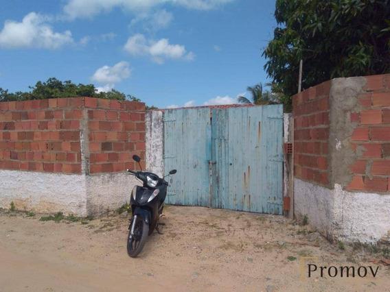 Chácara Com 2 Dormitórios À Venda, 1040 M² Por R$ 140.000 - Mosqueiro - Aracaju/sergipe - Ch0014