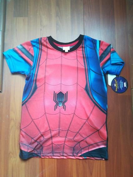 Playera Original Spider Man 8 Años