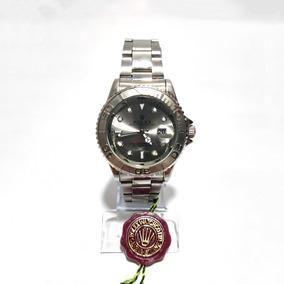 Relógio Rolex Prata Oyster Perpetual Date Safira S 44mm