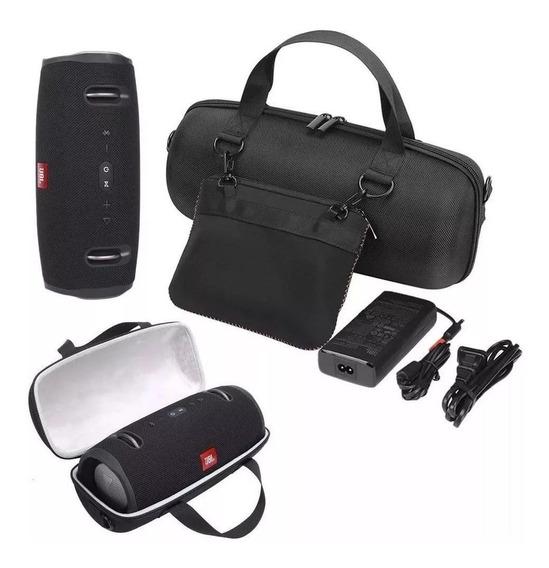 Bolsa Capa Case Jbl Xtreme 2 Neoprene + Bolsa P/ Acessórios
