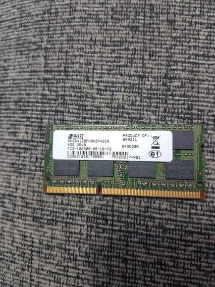 Memória 4gb Ddr3 1333mhz Smart 10600s P/ Notebook