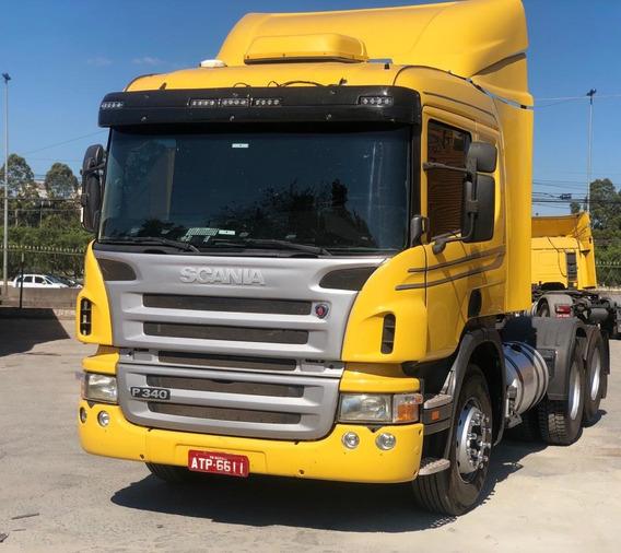 Scania P340 Ano 2011 6x2 Automática