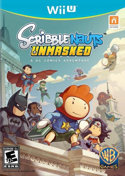 Scribblenauts Unmasked: A Dc Comics Adventur - Digital Wii U