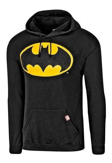 Sudadera Batman Caballero Ltx Scamjl016w Negro 68748 T3