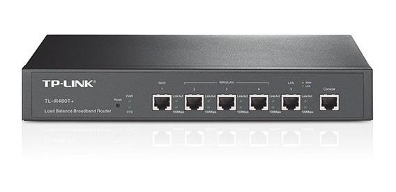 Router Tp-link Tl-r480t Balanceador Carga Banda 480 Rj45 Wan