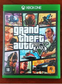 Grand Theft Auto V Gta 5 Xbox One Fisico =nuevo Canje